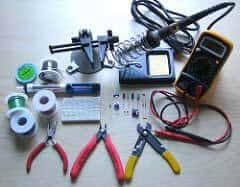 Materials you needed for soldering tasks