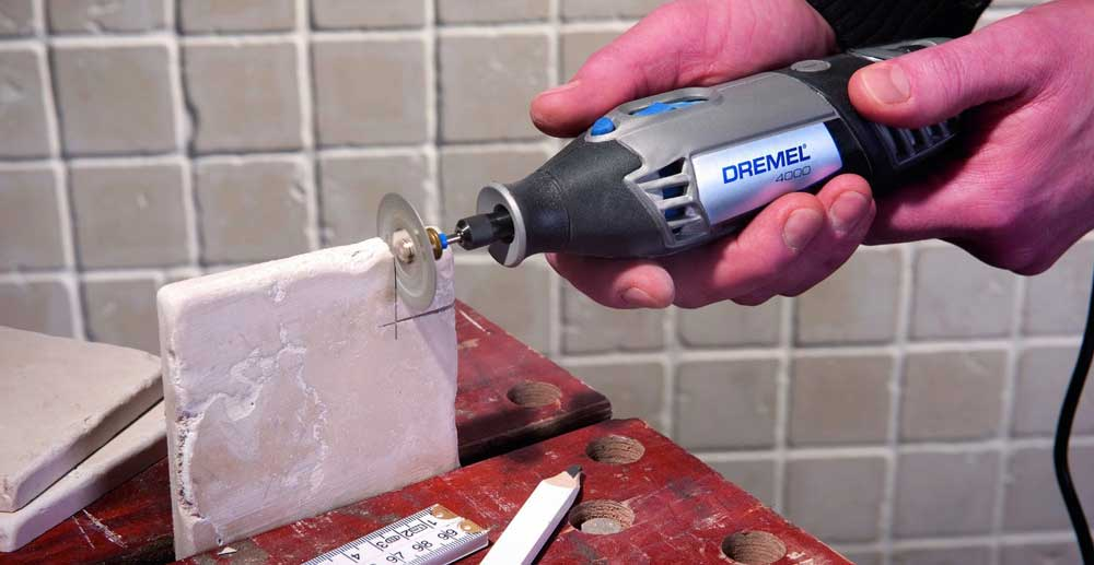 How to Cut tile with a Dremel Rotary Tool