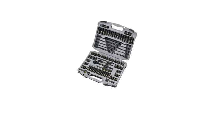 Stanley Black Chrome Socket Set Review 92-839, 99-Piece