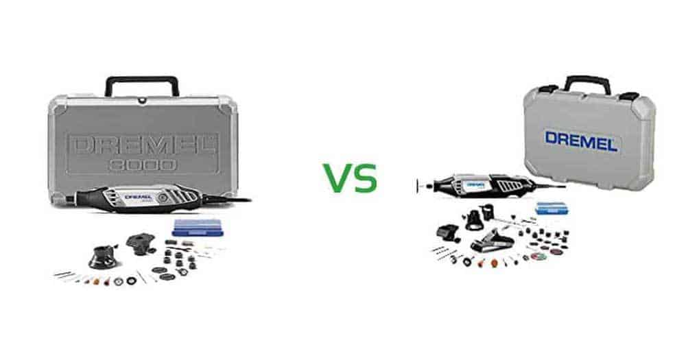 Dremel 3000 vs 4000 Rotary Tool Kit
