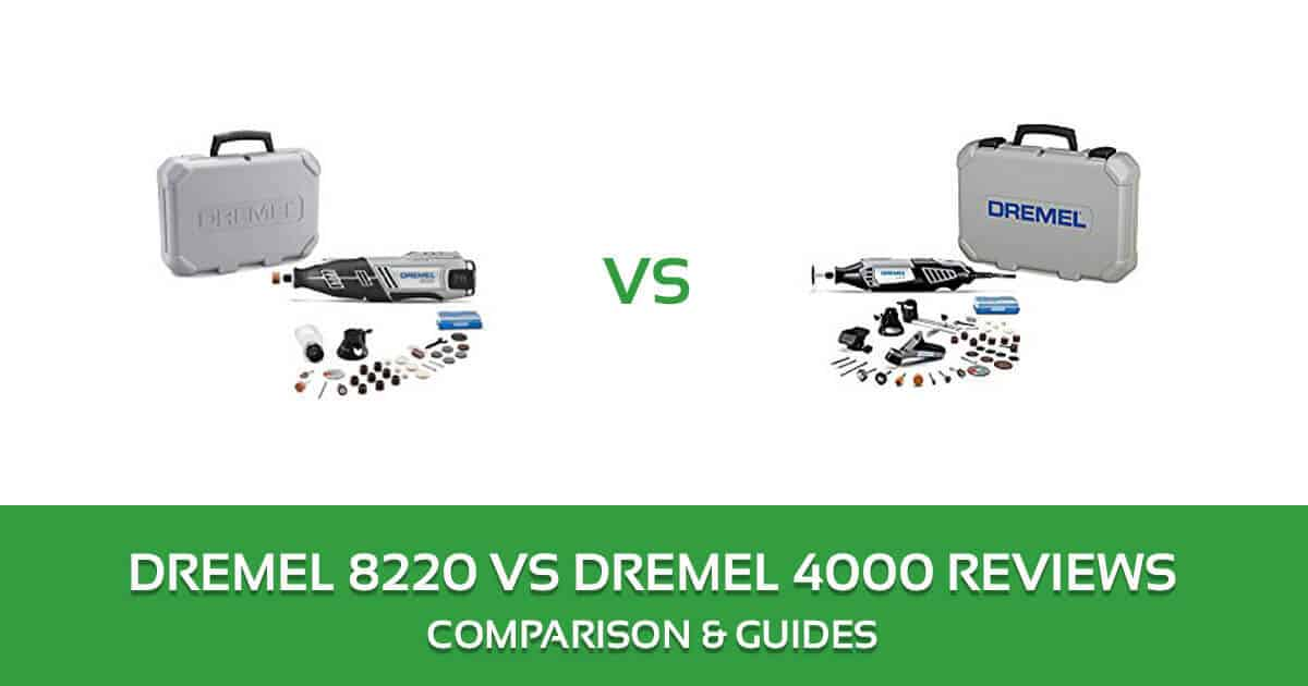 Dremel 8220 vs 4000 Rotary Tool Comparison and Review 2018