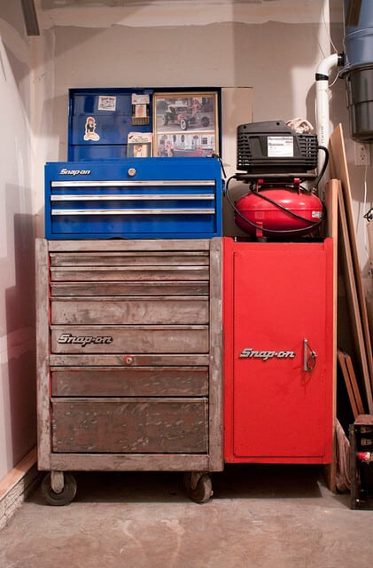 Organize Tool Chest Drawers