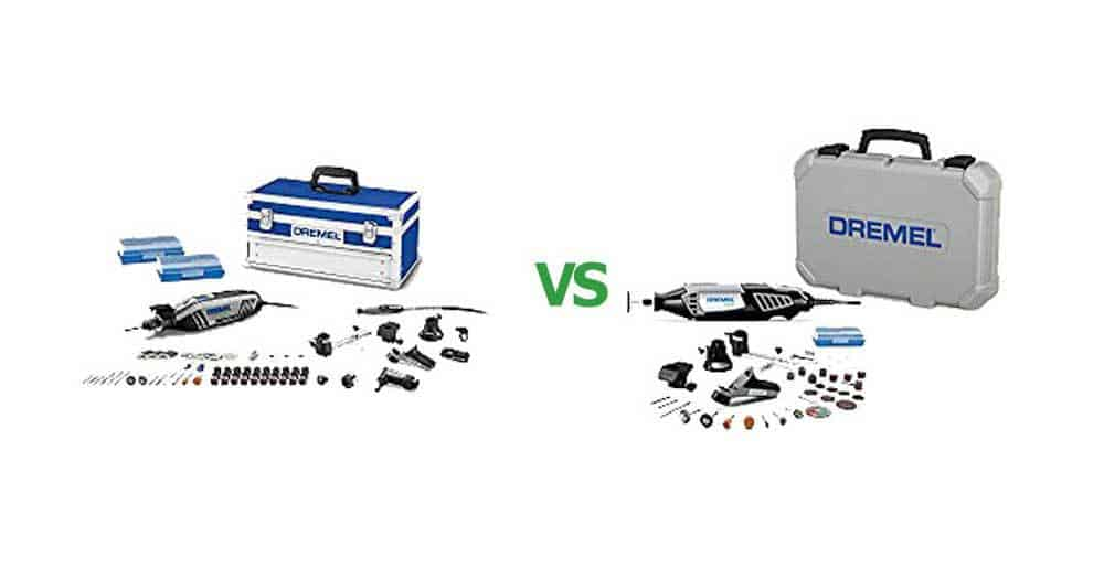 Dremel 4000 vs 4300 Rotary Tool Kit