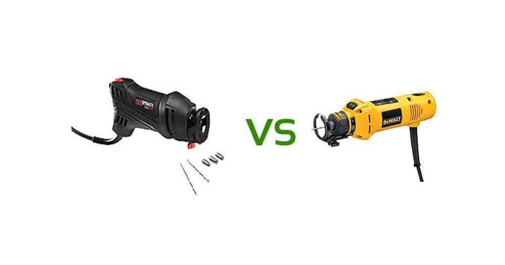 Rotozip vs Dewalt Rotary Tool Comparison