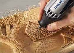 Wood Carving Dremel 4000