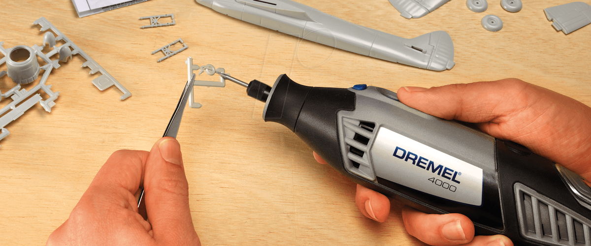 Dremel 4000 in action